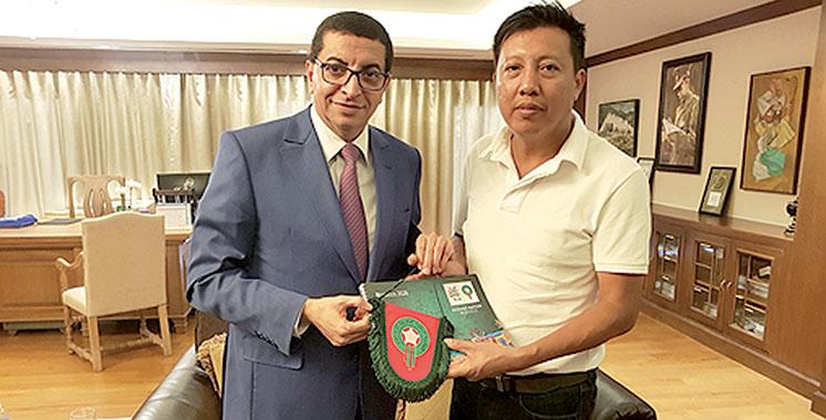 Coupe du monde 2026 : Le Myanmar soutient la candidature du Maroc