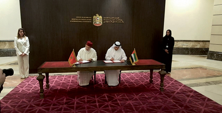 Maroc-Emirats Arabes Unis : Un nouveau cadre de partenariat se trace