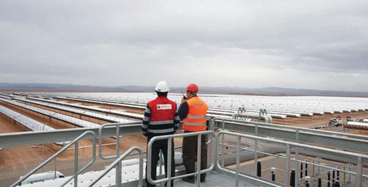 Centrale solaire Noor : Un modèle pour le World economic forum