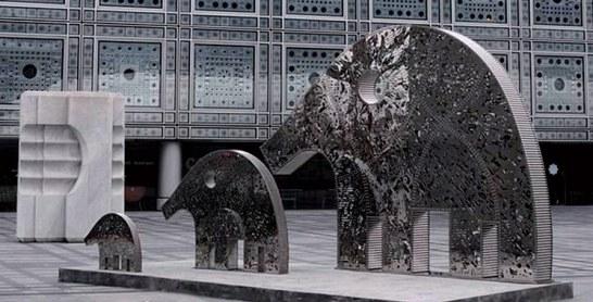 Projection «Nuba d'or et de lumières» à l'IMA de Paris