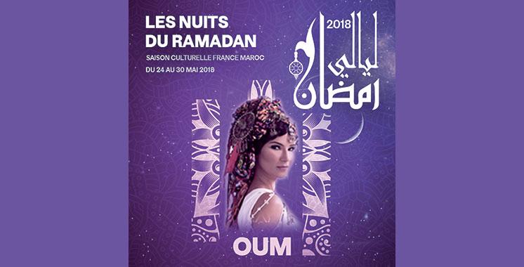 Nuits du Ramadan 2018 : Oum  se produira à Oujda