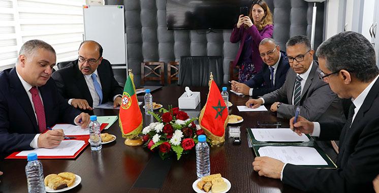Projet de construction d'une interconnexion électrique entre le Maroc et le Portugal