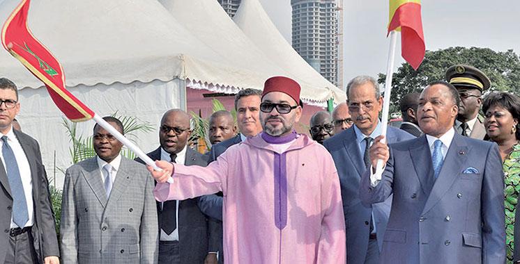 SM le Roi et le chef de l'Etat congolais président la cérémonie de signature : 14 accords de coopération pour renforcer  le partenariat Sud-Sud
