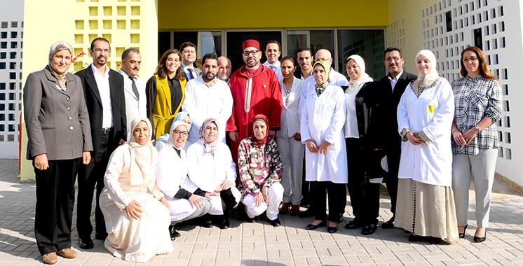 Fondation Mohammed V pour la solidarité : SM le Roi inaugure un centre médico-psycho-social à Tit Mellil