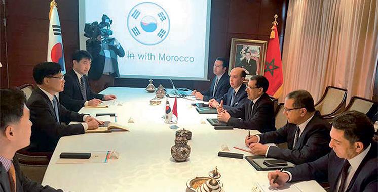 Hommage à l'industrie marocaine en Corée du Sud