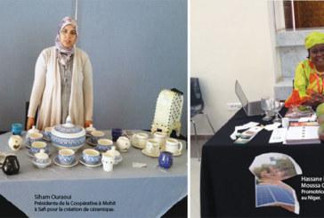 Des femmes marocaines et africaines exposent leur savoir-faire