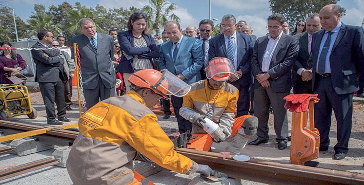 Tramway de Rabat-Salé : 20% des travaux d'extension atteints