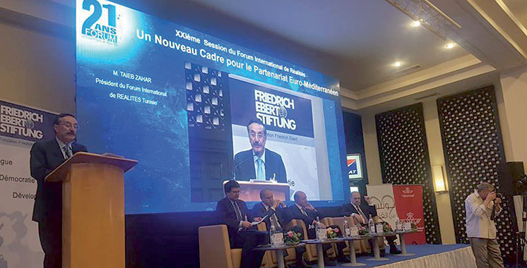 Forum international de Réalités : Plaidoyer en Tunisie pour un partenariat euro-méditerranéen rénové