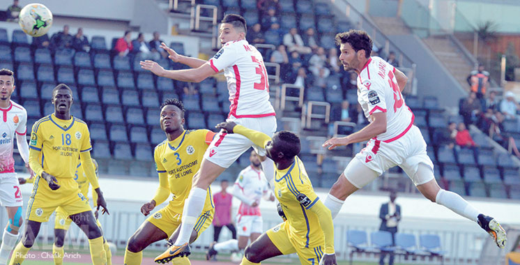 2ème journée de la Ligue des Champions d'Afrique : Le Wydad tient son rang, le DHJ se fait surprendre