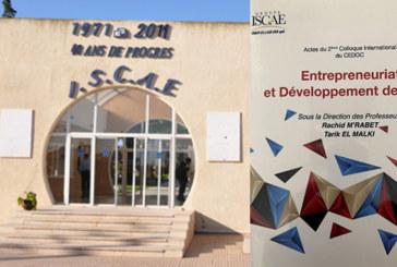 «Entrepreneuriat et développement des PME», une nouvelle publication de l'ISCAE