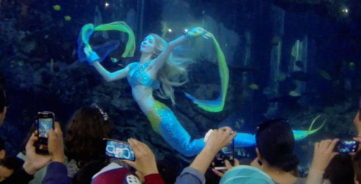 Morocco Mall : Claire la sirène est de retour