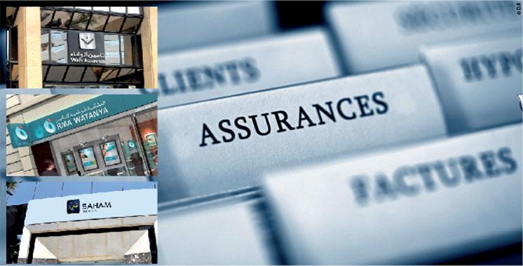 Assurances : 39 milliards de dirhams de chiffre d'affaires en 2017
