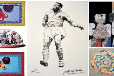 Exposition collective à Casablanca: Quand art et football font bon ménage