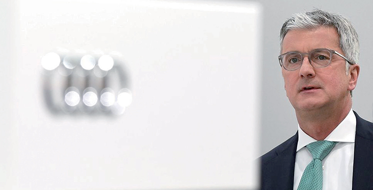 Le PDG d'Audi soupçonné  de fraude