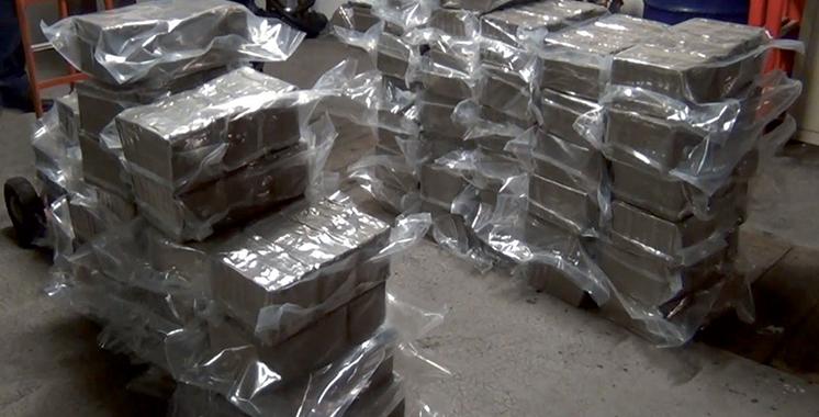 Saisie de 1.180 kg de chira au large de Oued Laou