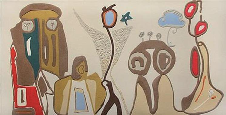 L'exposition «Abdellah Boukil : Sables,  fragment de mémoire» à Marrakech