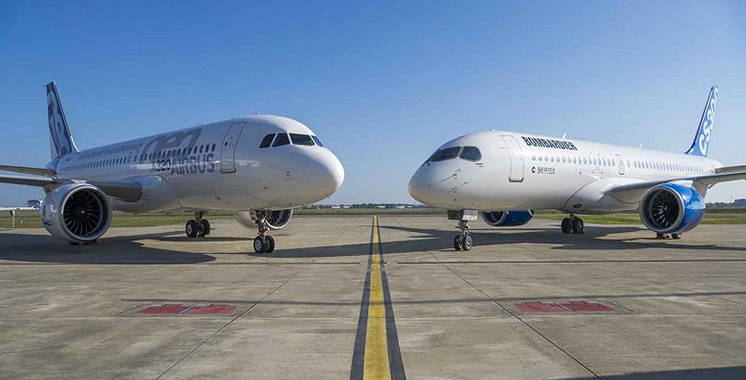 Programme C Series : Airbus, Bombardier et IQ concluent leur partenariat