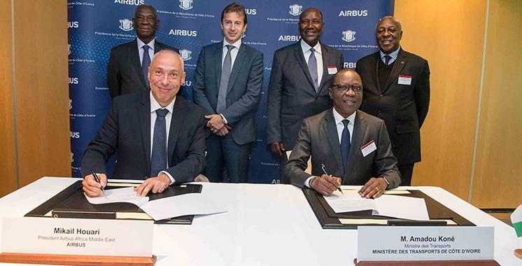 Aéronautique : Un partenariat entre Airbus et la Côte d'Ivoire