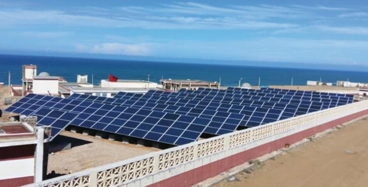 Commandé par l'Office national des pêches : Un projet pour réduire les émissions CO2 porte ses fruits à Boujdour