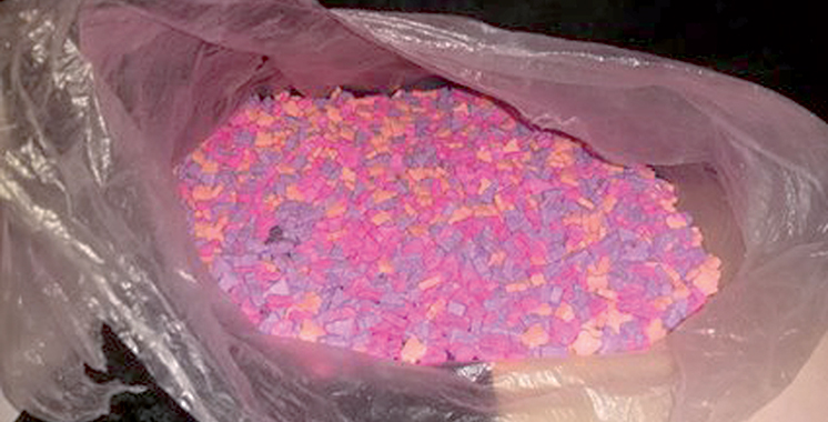 Casablanca : Arrestation de 2 trafiquants de drogue en possession de 2.000 ecstasy