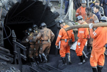 Explosion dans une mine en Chine: les 23 mineurs piégés secourus
