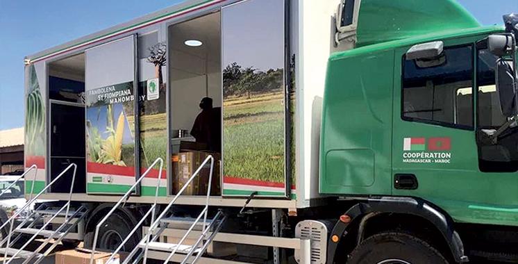 Fondation OCP : La caravane agricole  fait escale en Ethiopie