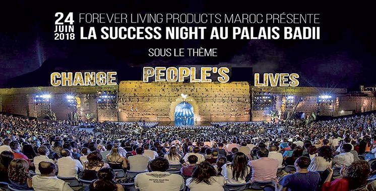 Forever Maroc : La 1ère Success night à Marrakech