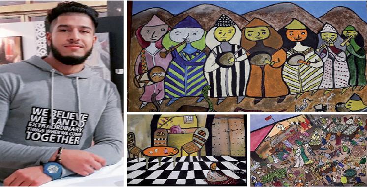 L'art naïf à la manière de Hamza Tounsi : Il a fait son premier dessin sur un tee-shirt