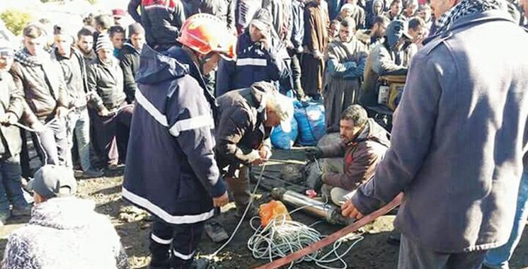 Jerada : Deux morts dans l'effondrement partiel d'une galerie traditionnelle de plomb