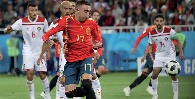 Troisième journée du groupe B : Le Maroc rugit, l'Espagne rougit