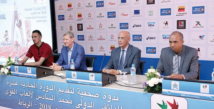 Meeting International Mohammed VI d'athlétisme : L'élite mondiale au rendez-vous  de la 11è édition
