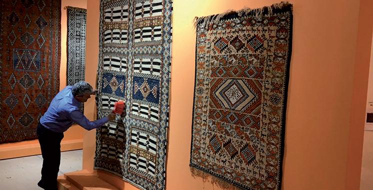 Musée National du Tissage et du Tapis Dar Si Saïd de Marrakech : Des tapis de toutes les couleurs