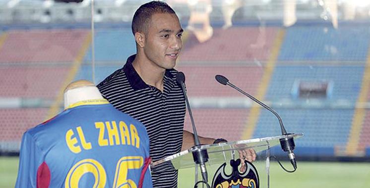 Nabil El Zhar au C.D. Leganés  jusqu'en 2020