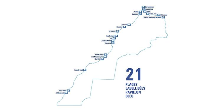 21 plages arboreront le label cet été : Le port de plaisance de Saïdia décroche le Pavillon bleu pour la deuxième fois