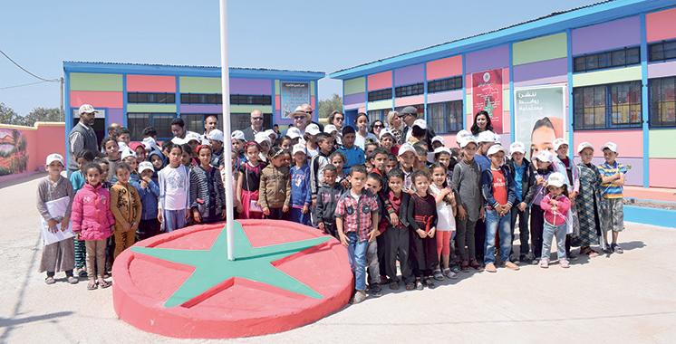 Renault réhabilite une école dans la région d'Essaouira
