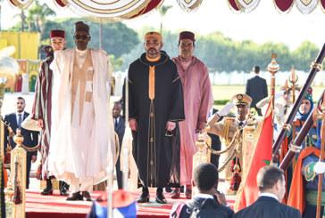Le président du Nigeria en visite officielle au Maroc : L'axe Rabat-Abuja se renforce