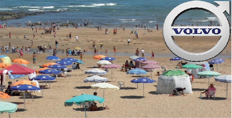 Scandinavian Auto Maroc : Volvo Cars lance une opération de nettoyage de la plage Porte 3 Ain Diab