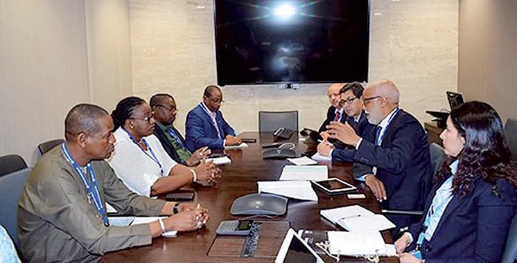 En visite à Genève : Yatim rencontre la direction générale de l'OIT