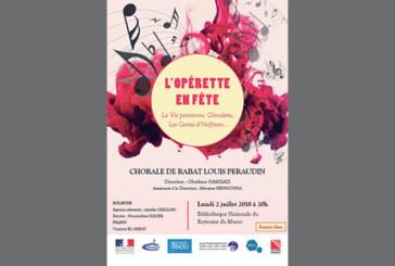 La chorale de Rabat  «Louis Péraudin» interprète des airs d'opéra