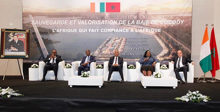 Fruit d'un partenariat maroco-ivoirien : La totalité des plates-formes de la baie  de Cocody livrée d'ici la fin 2018