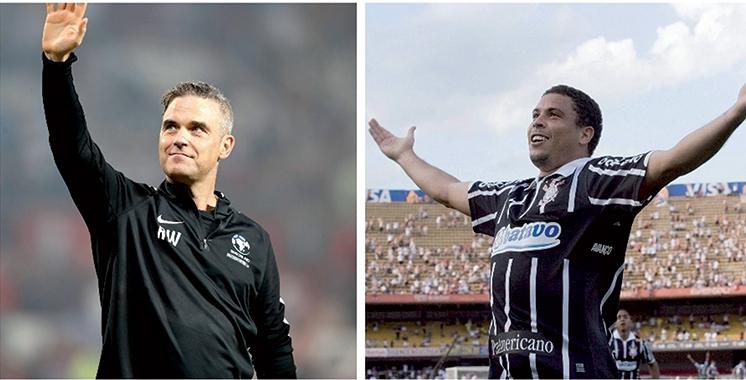 Cérémonie d'ouverture du Mondial-2018: Robbie Williams et Ronaldo pour enflammer la scène