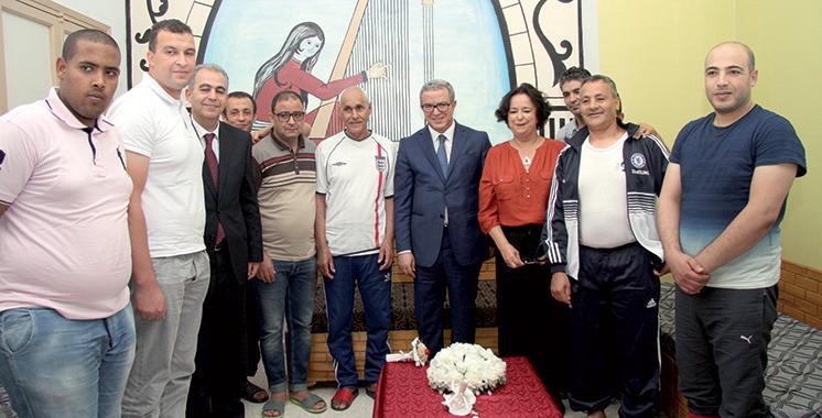 Aujjar et Akharbach rendent visite à des prisonniers  marocains en Tunisie