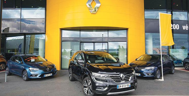 Renault : 2,1 millions de voitures vendues dans le monde au 1er semestre 2018