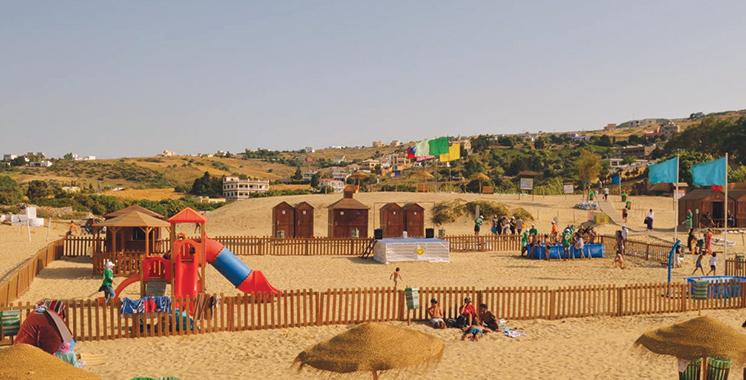Grâce à l'engagement d'APM Terminals Tangier : La plage de Oued Alian labellisée «Pavillon bleu» pour la 3ème année d'affilée