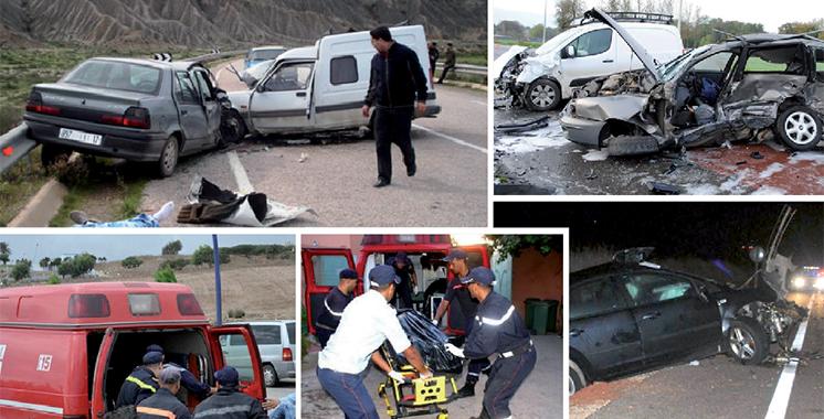 Sécurité routière : 35.899 accidents et 1.187 tués durant les 5 premiers mois