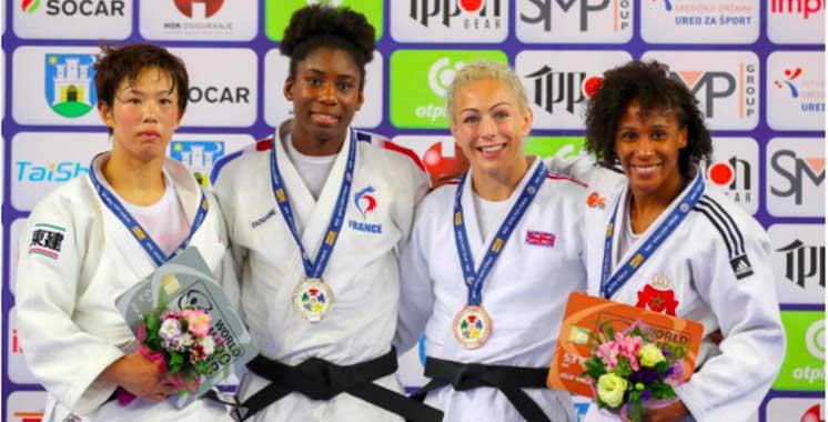 Grand Prix de judo de Croatie : Asmaa Niang décroche le bronze