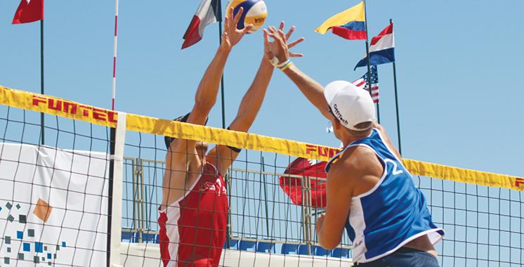 Beach-volley : Agadir à l'heure du Championnat du monde
