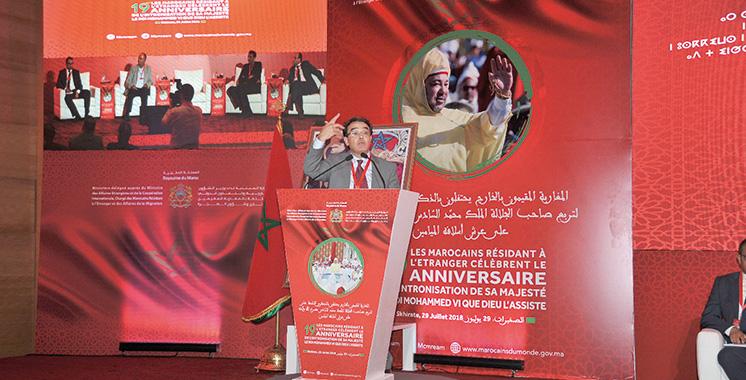 Les MRE prennent part au 19ème anniversaire de la Fête du Trône : Une forte pensée au développement du Maroc