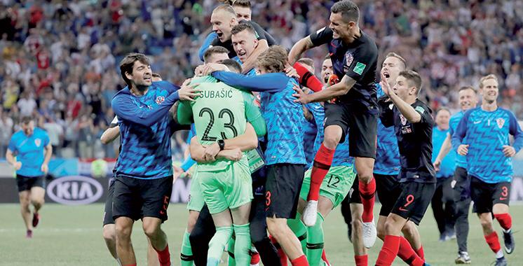 Dans un Mondial fatal aux favoris : Russie et Croatie tirent leur  épingle du jeu