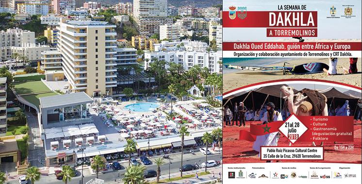 La Semaine de Dakhla à Torremolinos du 21 au 28 juillet